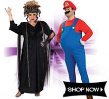 Picture for category Plus Size Costumes
