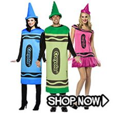 Picture for category Crayola Crayons Group Costumes