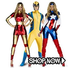 Picture for category Marvel Bodysuit Group Costumes
