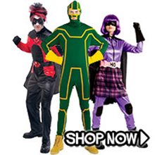 Picture for category Kick-Ass Group Costumes