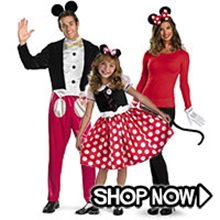 Picture for category Mickey & Minnie Mouse Group Costumes