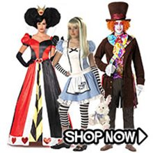 Picture for category Alice in Wonderland Group Costumes