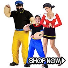 Picture for category Popeye Group Costumes