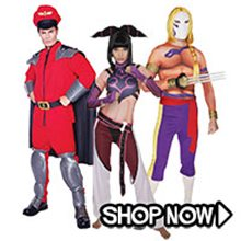 Picture for category Street Fighter Group Costumes