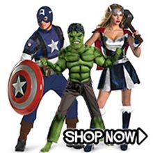 Picture for category The Avengers Group Costumes