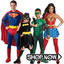 Picture for category The Justice League Group Costumes