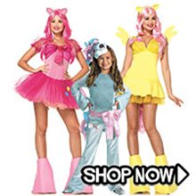 Picture for category My Little Pony Group Costumes