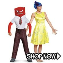Picture for category Inside Out Group Costumes
