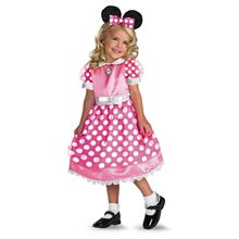 Picture of Minnie Mouse Pink Dress Costume