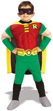 Picture of Teen Titans Robin Deluxe Muscle Chest Toddler Costume