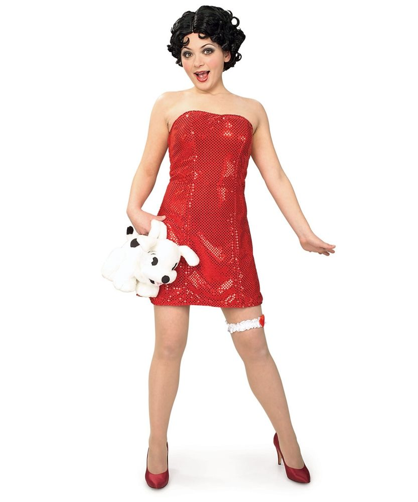 Picture of Betty Boop Adult Costume