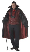 Picture of Count Blood Thirst Plus Size Costume