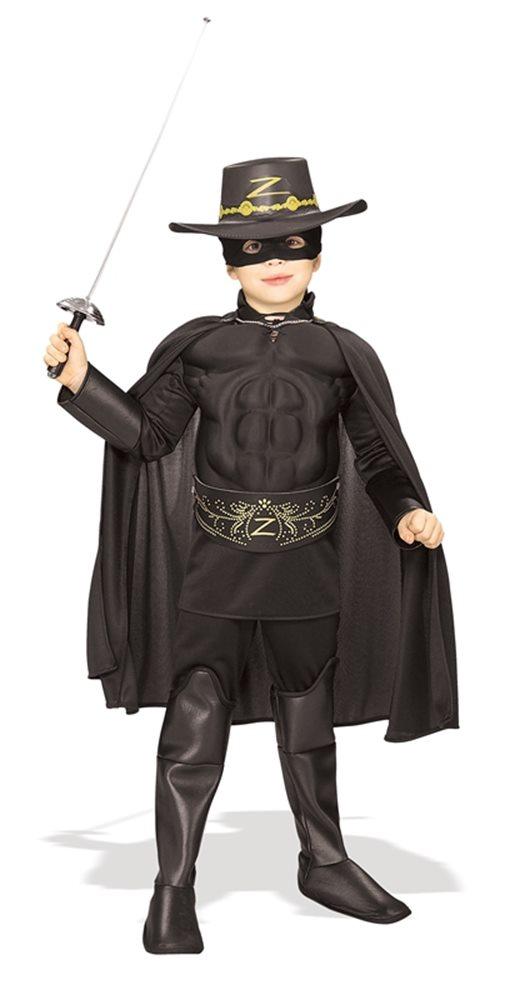 Picture of Muscle Chest Zorro Child Costume