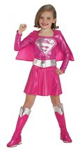 Picture of Supergirl Pink Child Costume