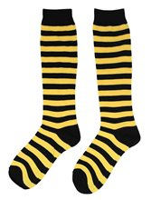 Picture of Bumblebee Striped Adult Socks