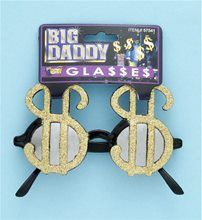 Picture of Jumbo Dollar Sign Glasses