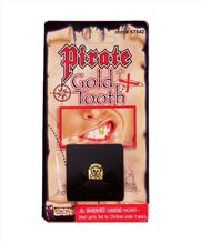 Picture of Pirate Gold Tooth with Skull