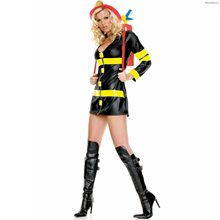 Picture of Sexy Fire Woman Adult Womens Costume