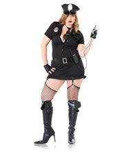 Picture of Dirty Cop Plus Size Adult Womens Costume