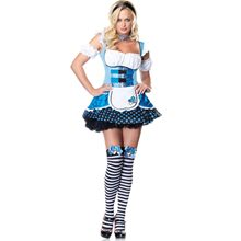 Picture of Magic Mushroom Alice Adult Womens Costume