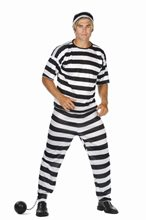Picture of Convict Adult Costume