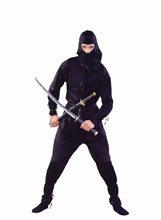 Picture of Ninja Black Adult Costume
