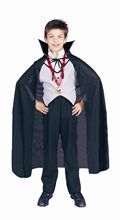 Picture of Black Dracula Child Cape