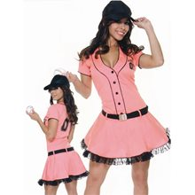 Picture of Homerun Hitter Adult Womens Costume