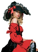 Picture of Pirate Hat with Frills