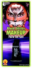 Picture of Black Glitter Makeup