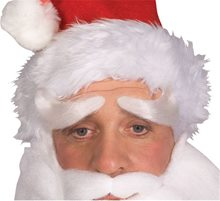 Picture of Santa Claus Deluxe Eyebrows