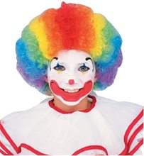 Picture of Multicolor Clown Child Wig