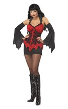 Picture of Glamour Vampire Adult Womens Costume