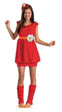 Picture of Elmo Dress Girls Costume
