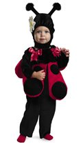 Picture of Lady Bug Fuzzy Costume