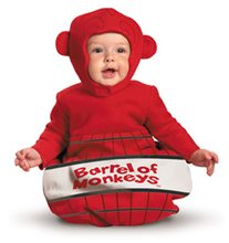 Picture of Barrel of Monkeys Infant Bunting Costume