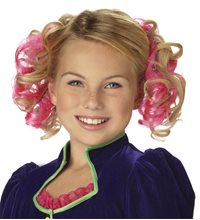 Picture of Pink Curly Clips