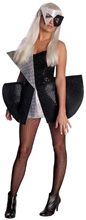 Picture of Lady Gaga Black Sequin Dress Adult Costume