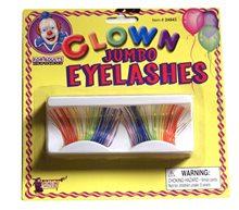 Picture of Jumbo Clown Rainbow Eyelashes