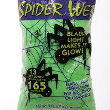 Picture of Green Super Glow Spiderweb 165 Square Feet