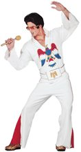 Picture of Elvis White Jumpsuit Adult Costume