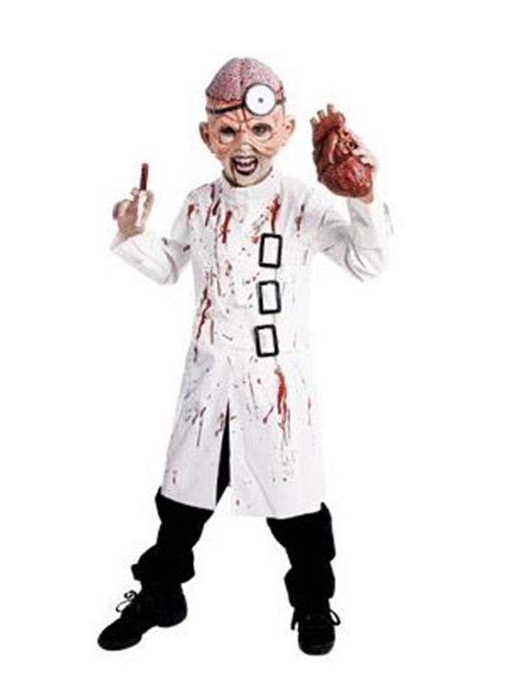 Picture of Deluxe Doctor Insano Child Costume