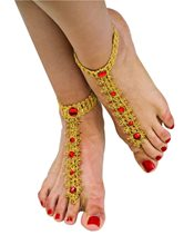 Picture of Bollywood Foot Decorations