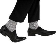 Picture of Michael Jackson Sequin Adult Faux Socks
