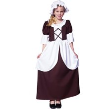 Picture of Colonial Girl Child Costume