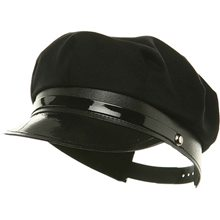 Picture of Black Chauffeur Adult Hat