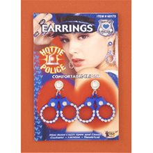 Picture of Hottie Police Handcuff Earrings
