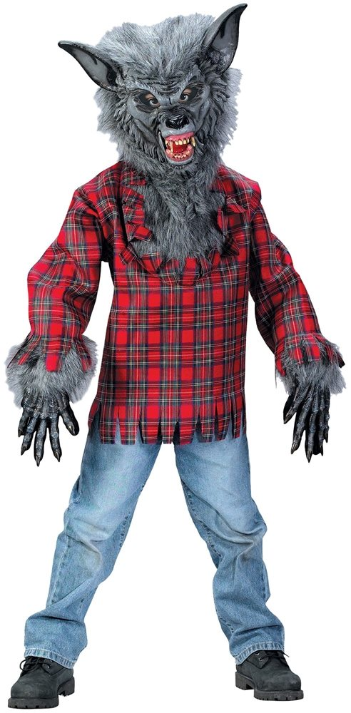 Picture of Grey Werewolf Child Costume