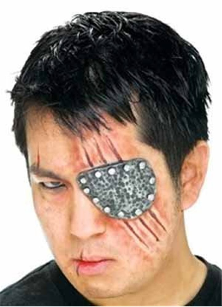 Picture of Metal Eye Patch Prosthetic