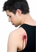 Picture of Bullet Entry/Exit Wound Prosthetic